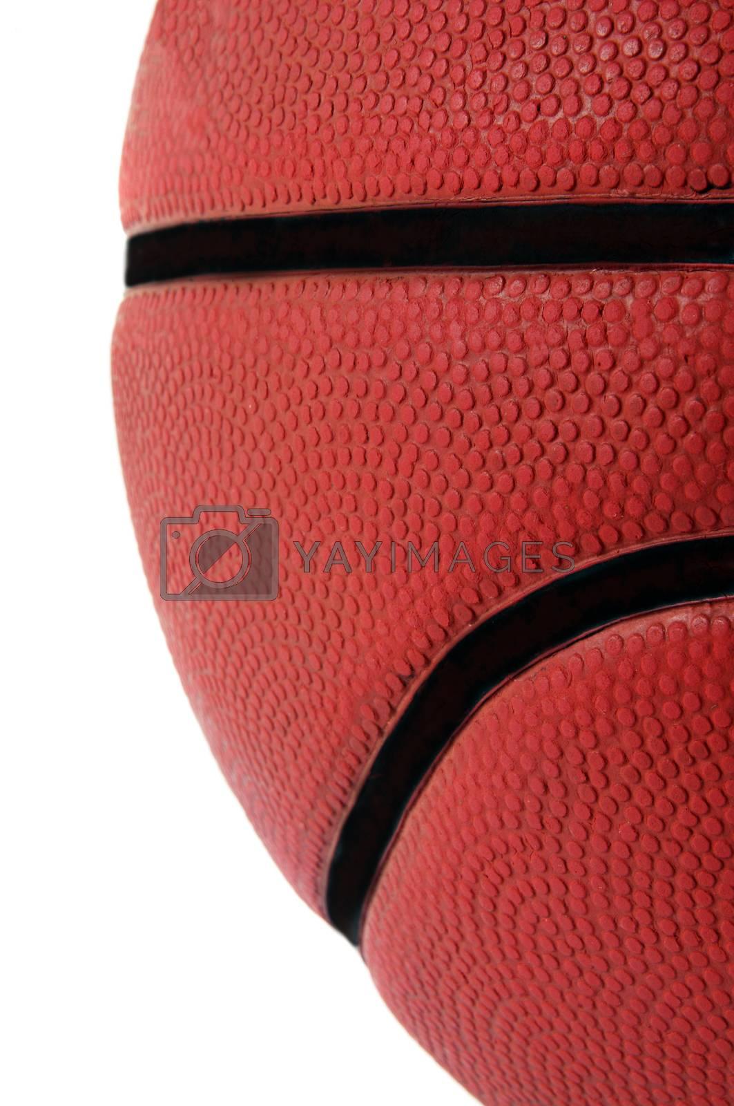 basketball  closeup texture.shallow DOF