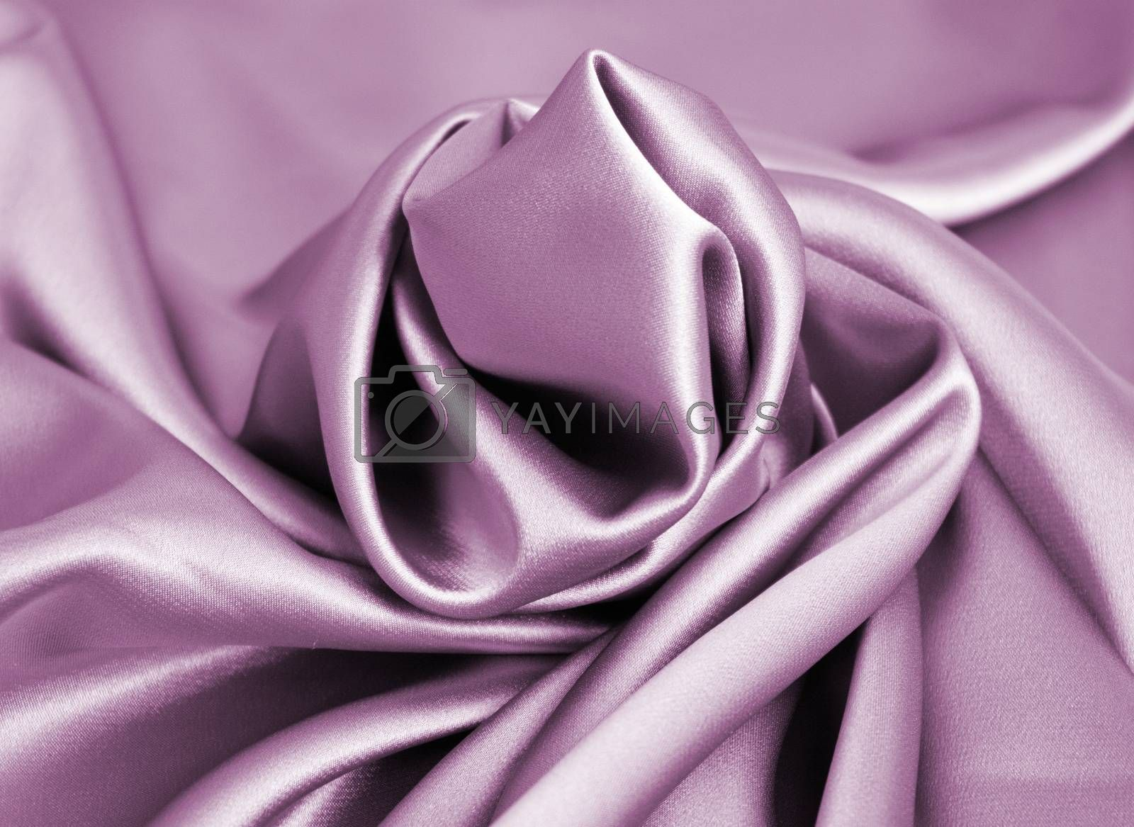 Beautiful purple fabrics background