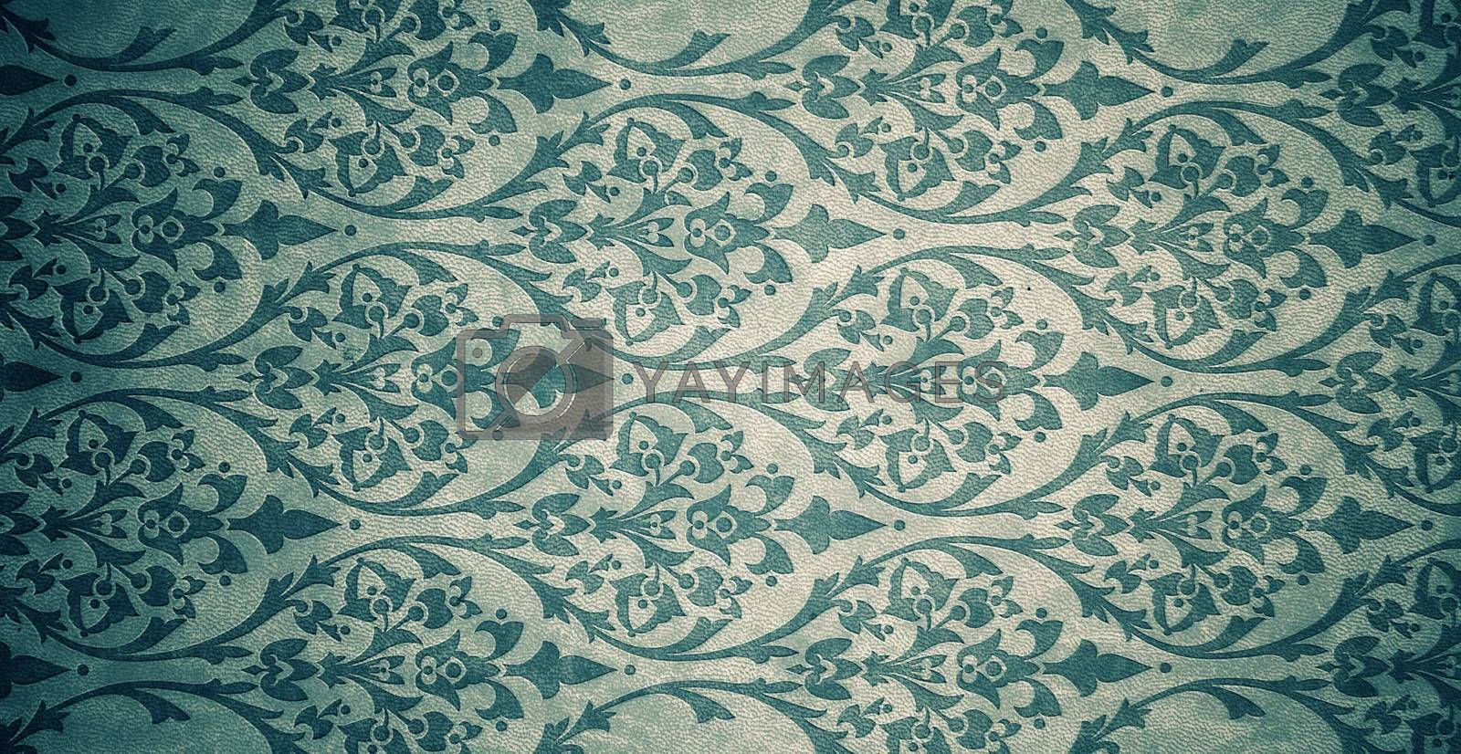 old ornament texture background