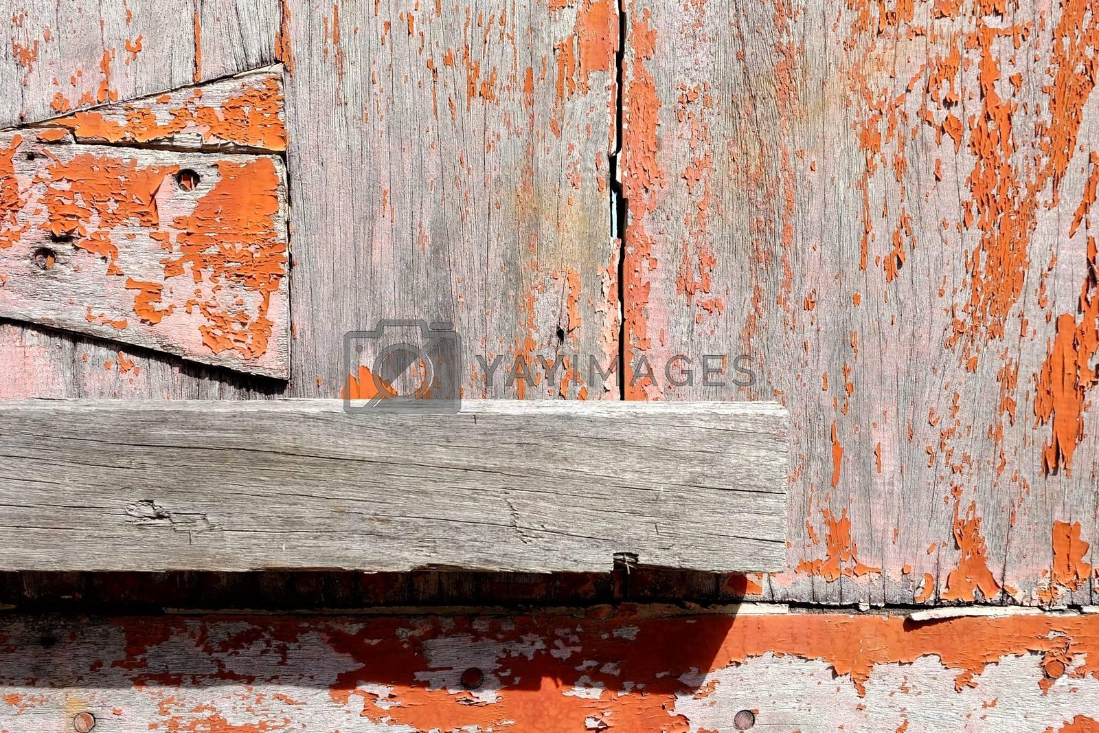Old Wooden Door Lock.
