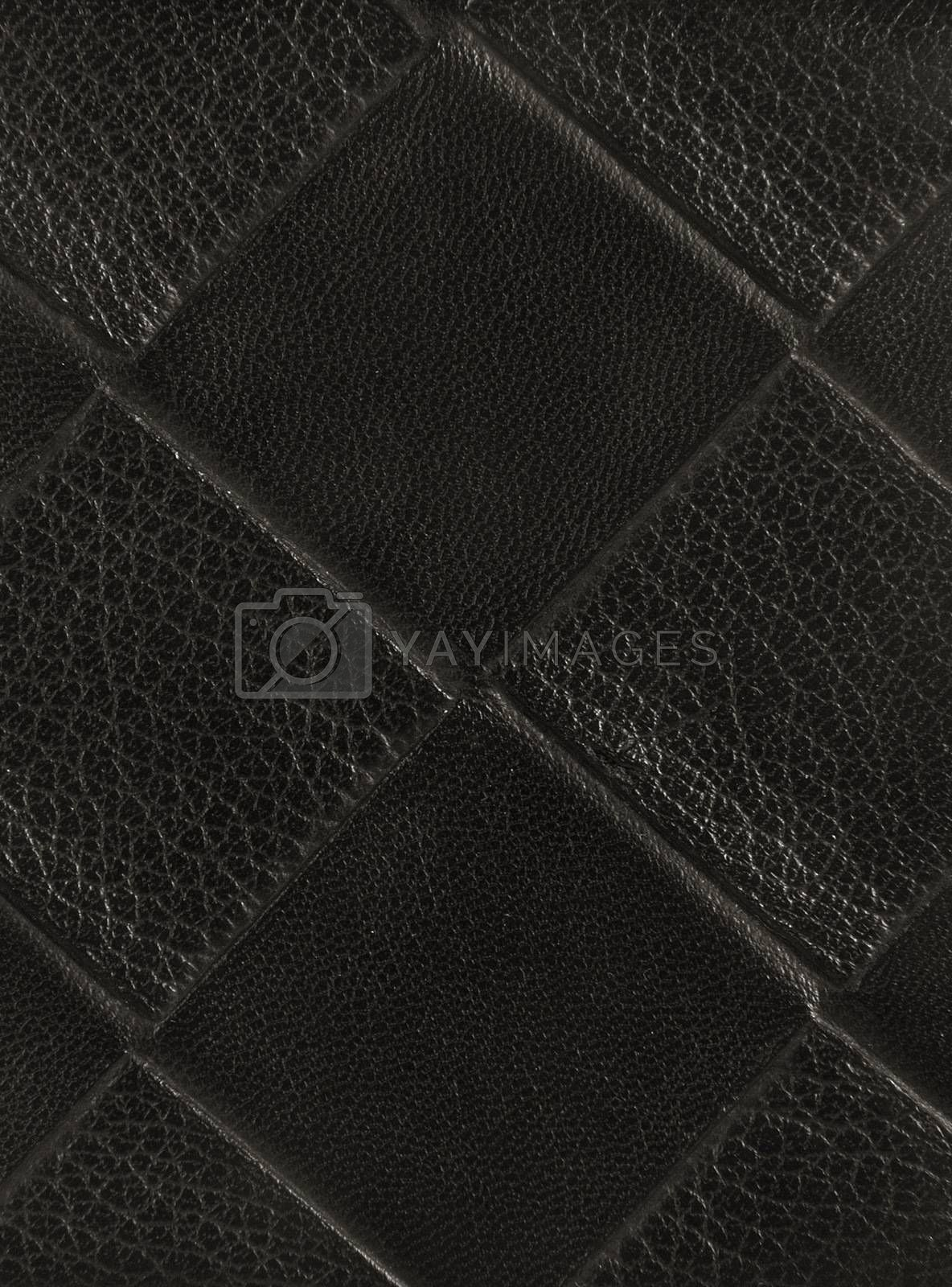 leather texture closeup as a background