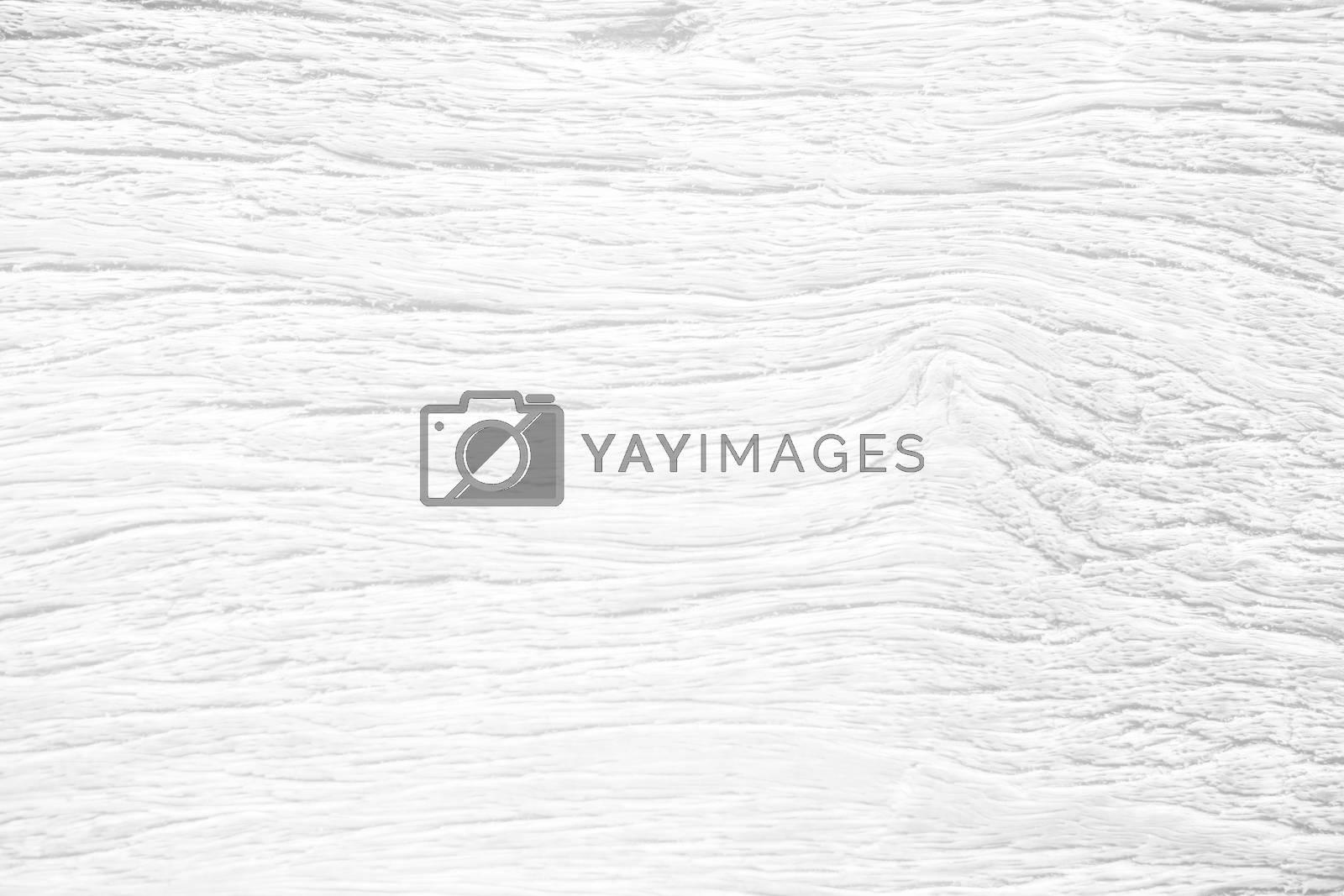 White Wooden Board Texture Background.