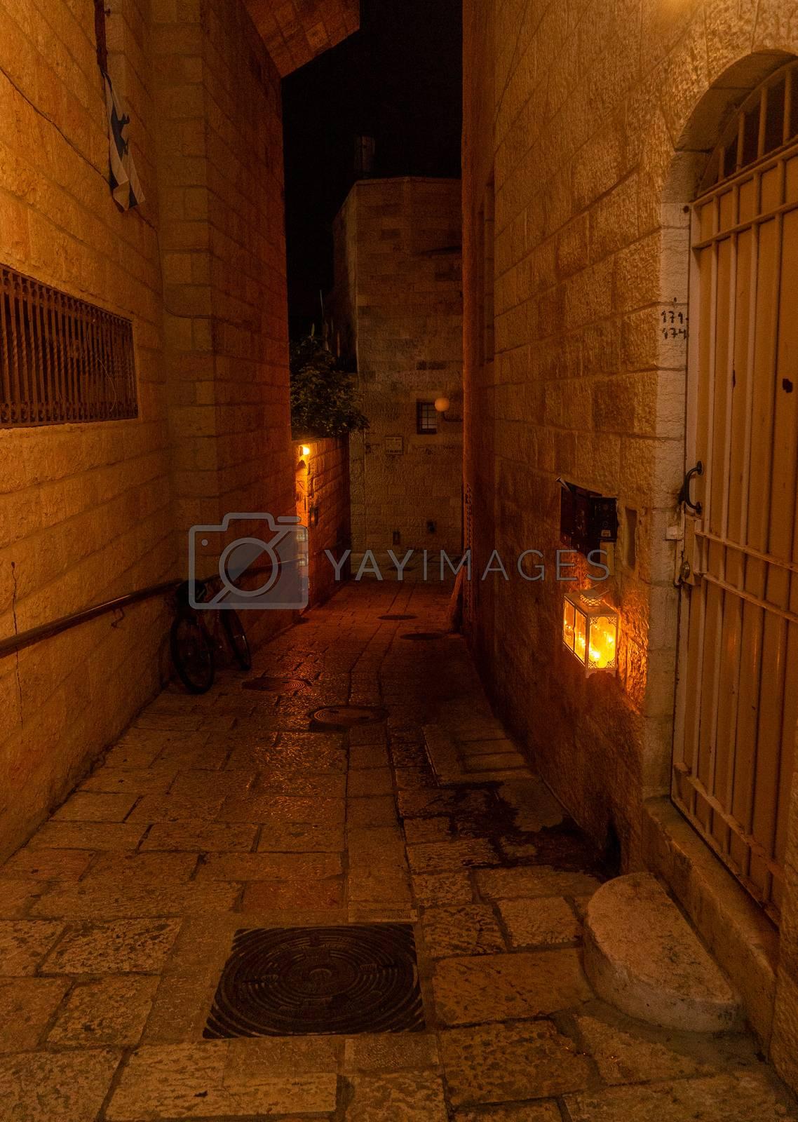 Jewish holiday chanuka celebration in israel jerusalem