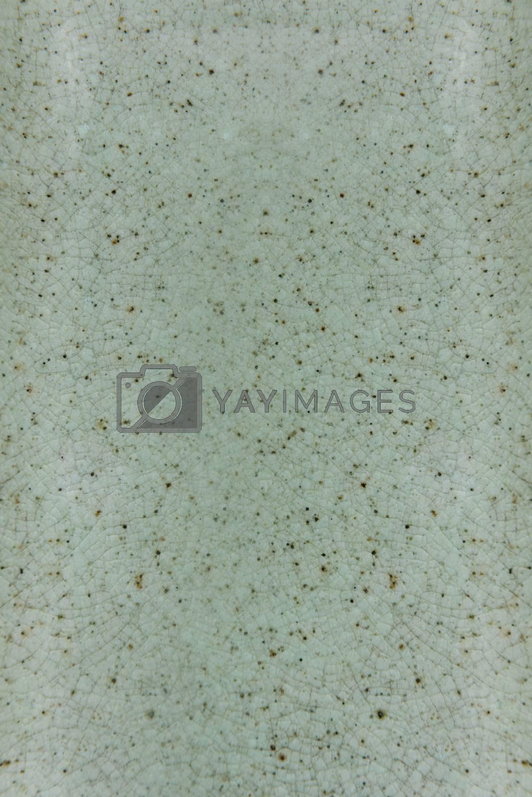 Green ceramic textured background