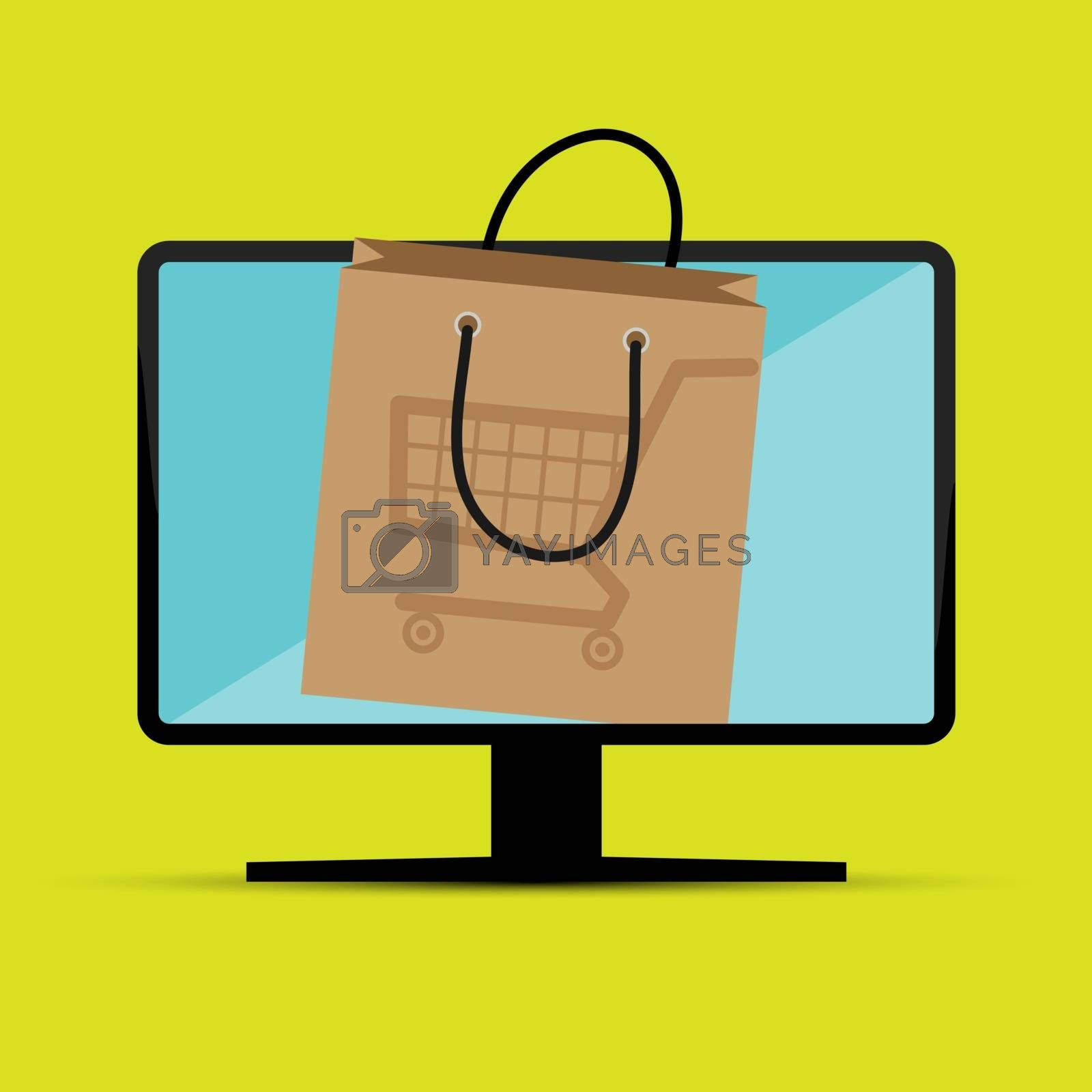 E-Commerce, online remote purchase of goods and services