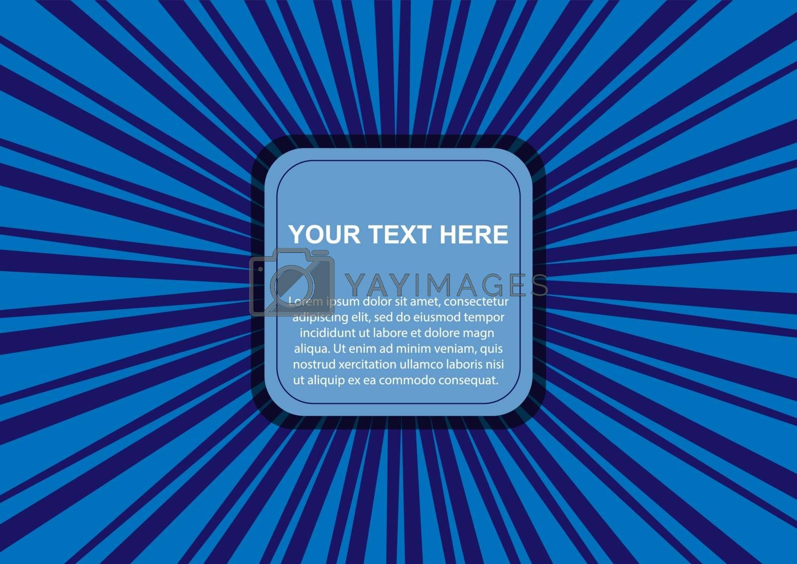 Abstract background for design and decoration of booklets, presentations