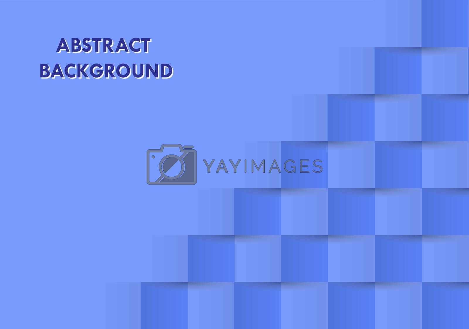 Abstract background in blue for decoration and design