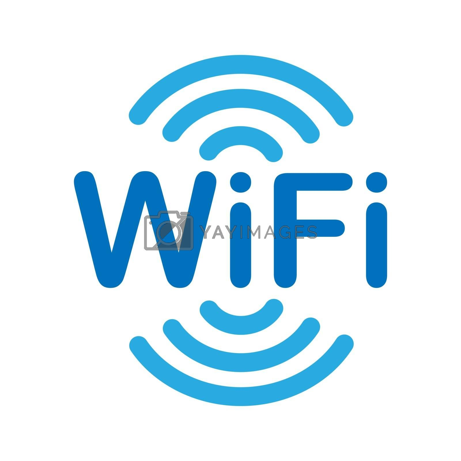 WiFi. Information icon about access to the wireless Internet