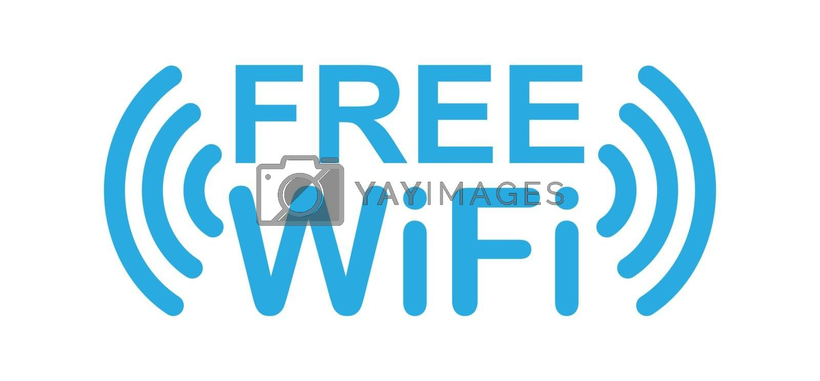 Free access to the WiFi network. Information icon