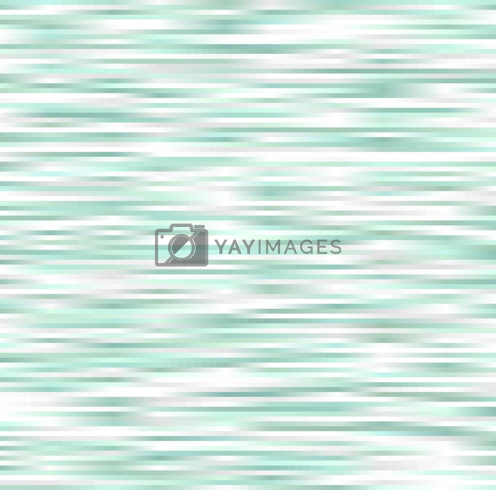 square horizontal stripes green and white gradient background