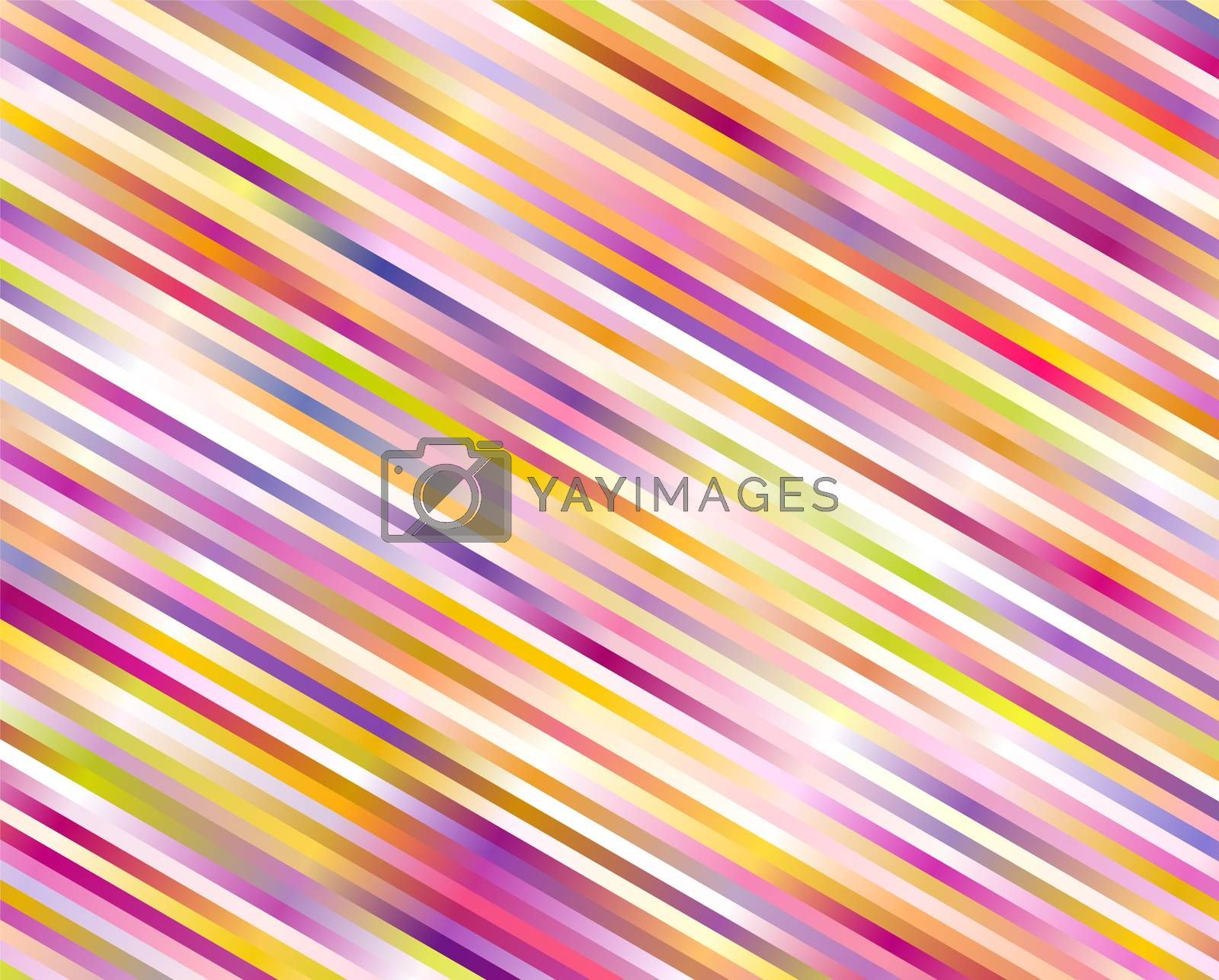 striped orange and magenta color background vector pattern