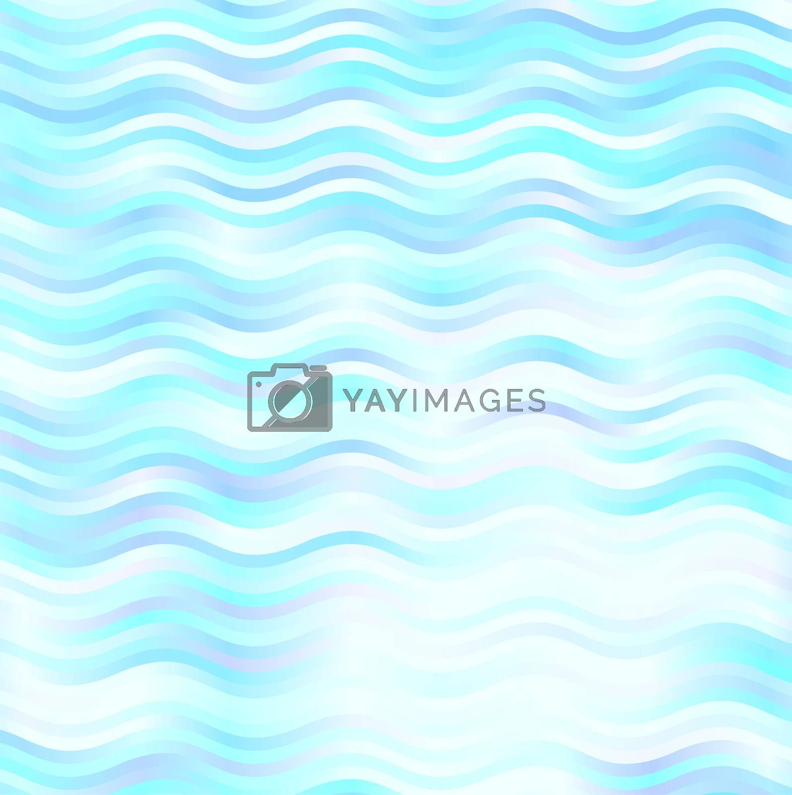 blue waves background pattern light and shine