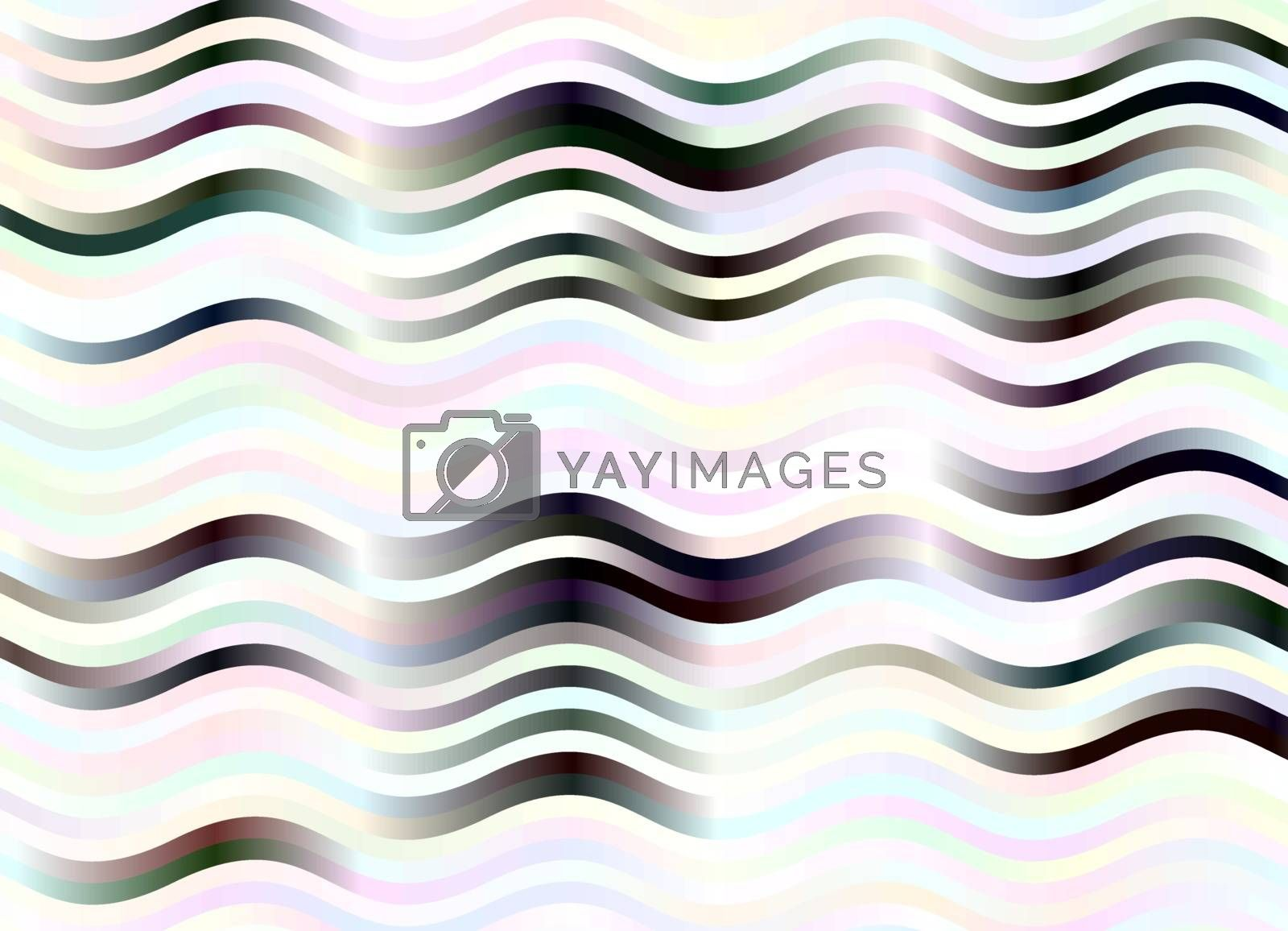 pale pastel colors, white and black horizontal waves background