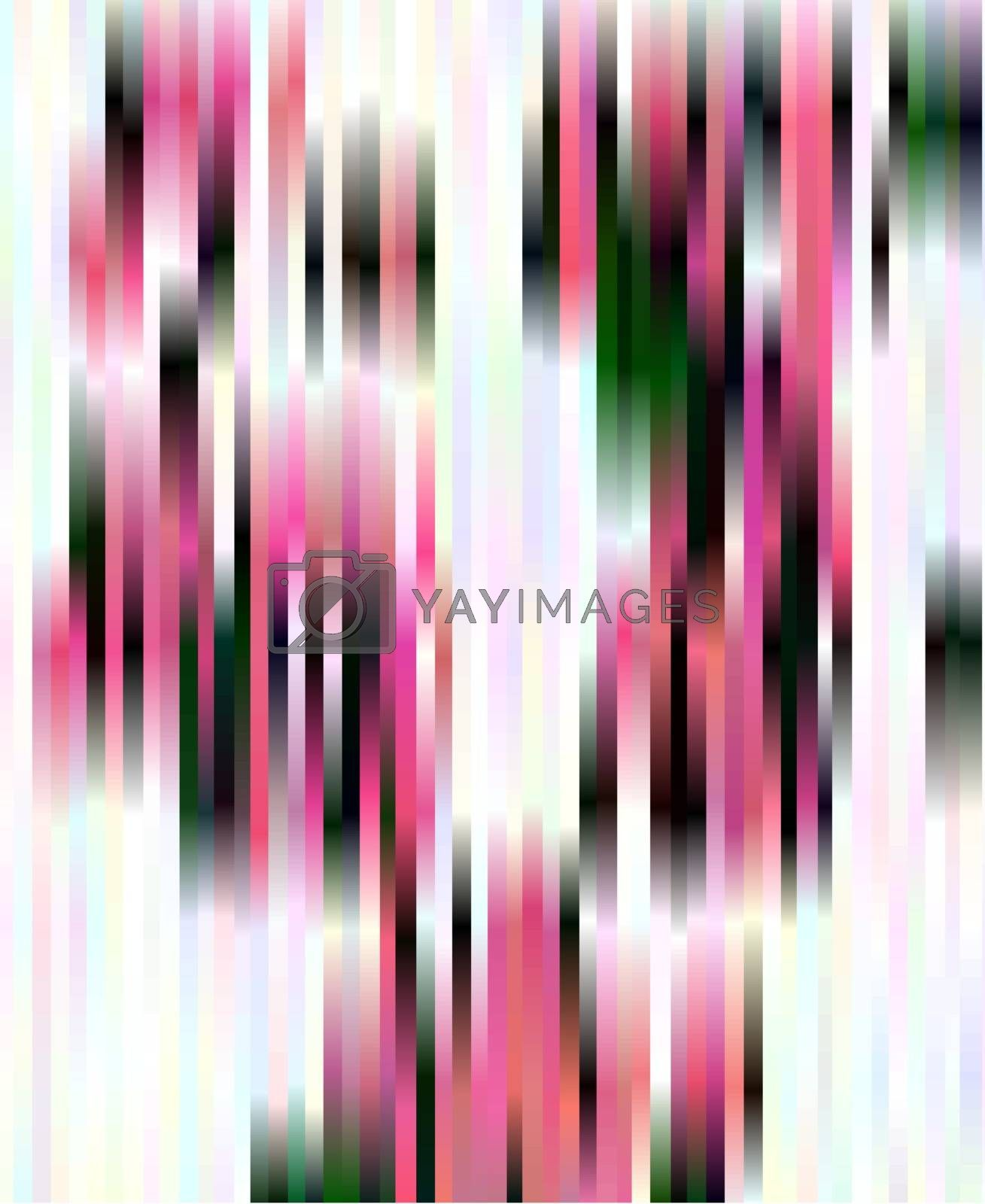 Abstract magenta, black and white vertical stripes background