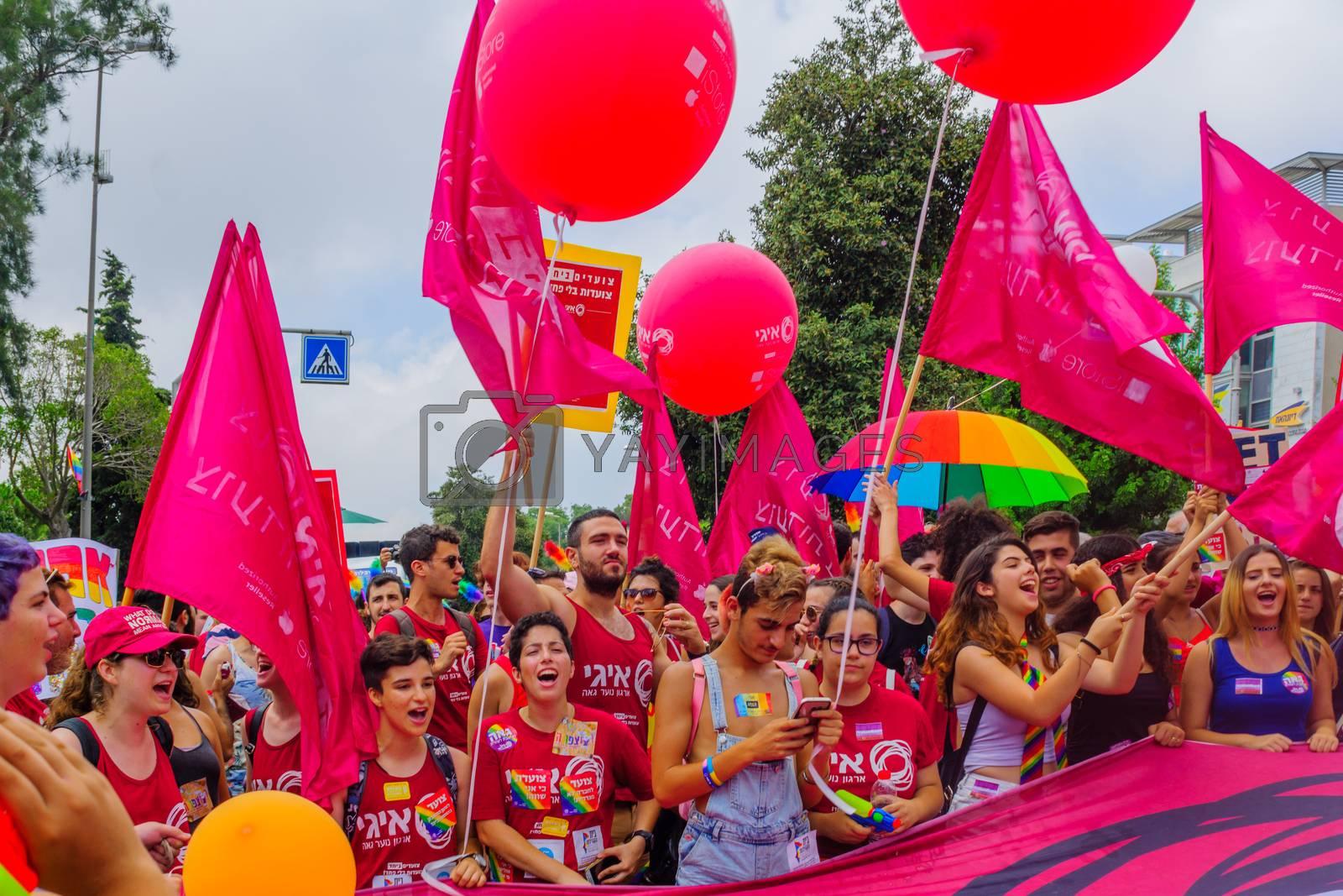 Royalty free image of Haifa 11th pride parade, 2017 by RnDmS