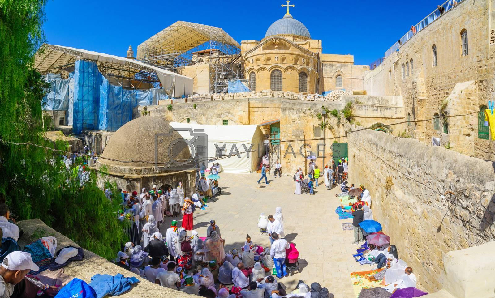 Orthodox Good Friday 2016 in Jerusalem by RnDmS