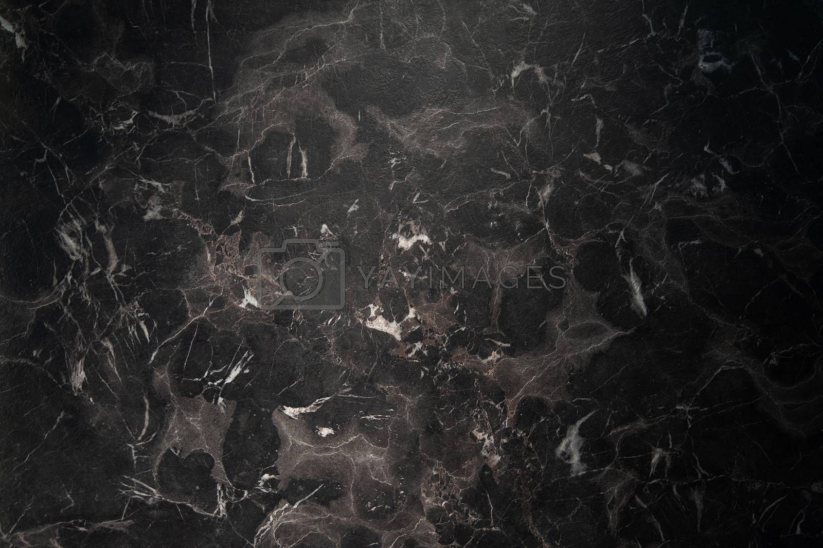 Black marble natural pattern for background