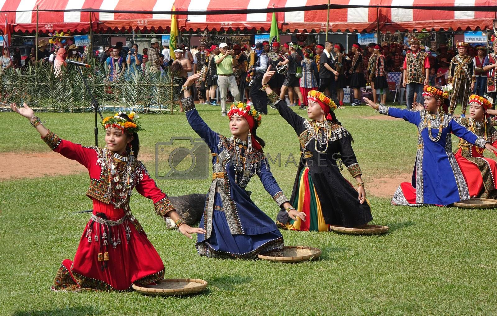 Royalty free image of Harvest Festival of the Rukai People in Taiwan by shiyali