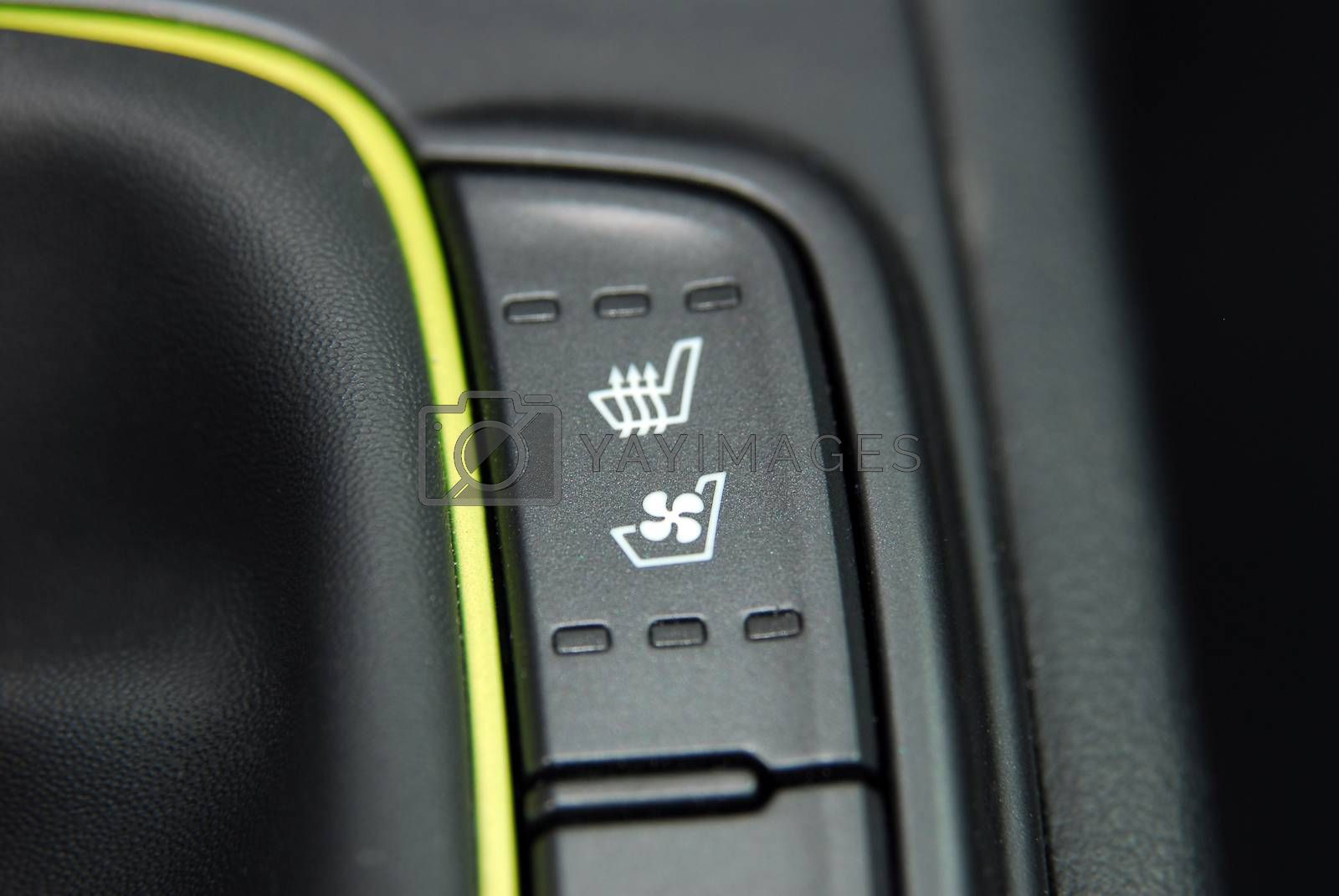 switch heating car seats by aselsa