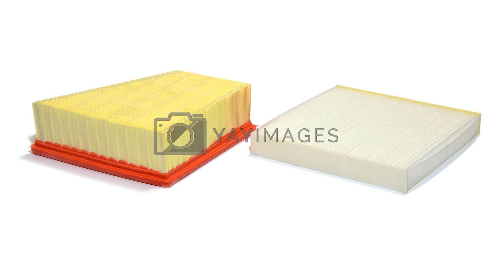 Automotive air filter and pollen filter by aselsa