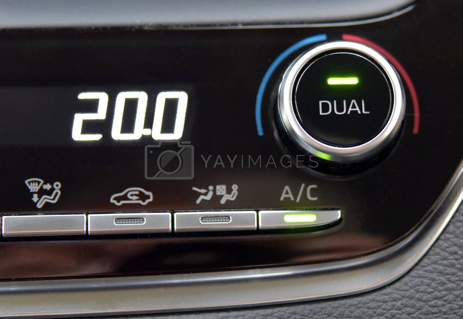 Automatic Car Air Conditioner by aselsa
