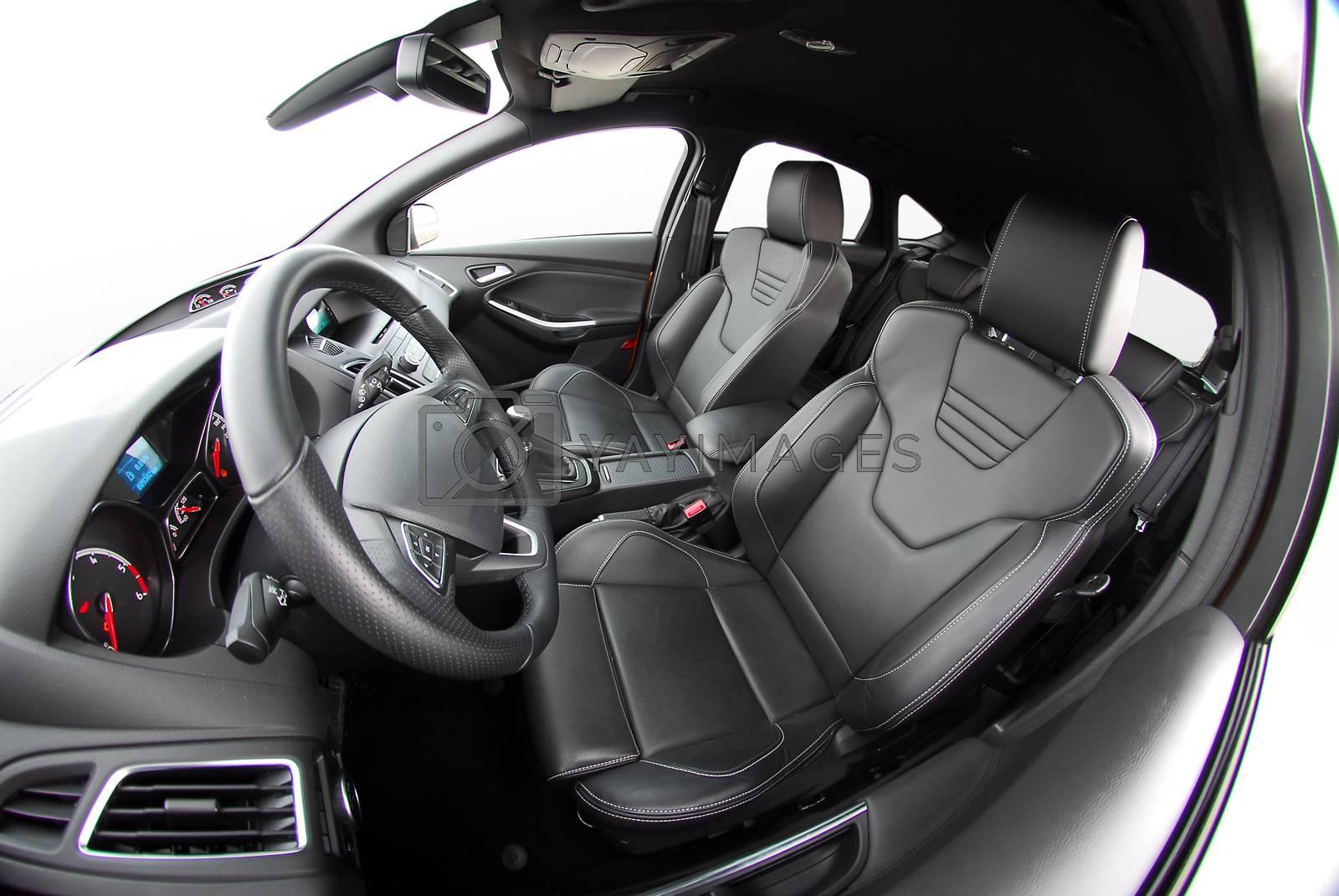 dashboard of a modern car by aselsa