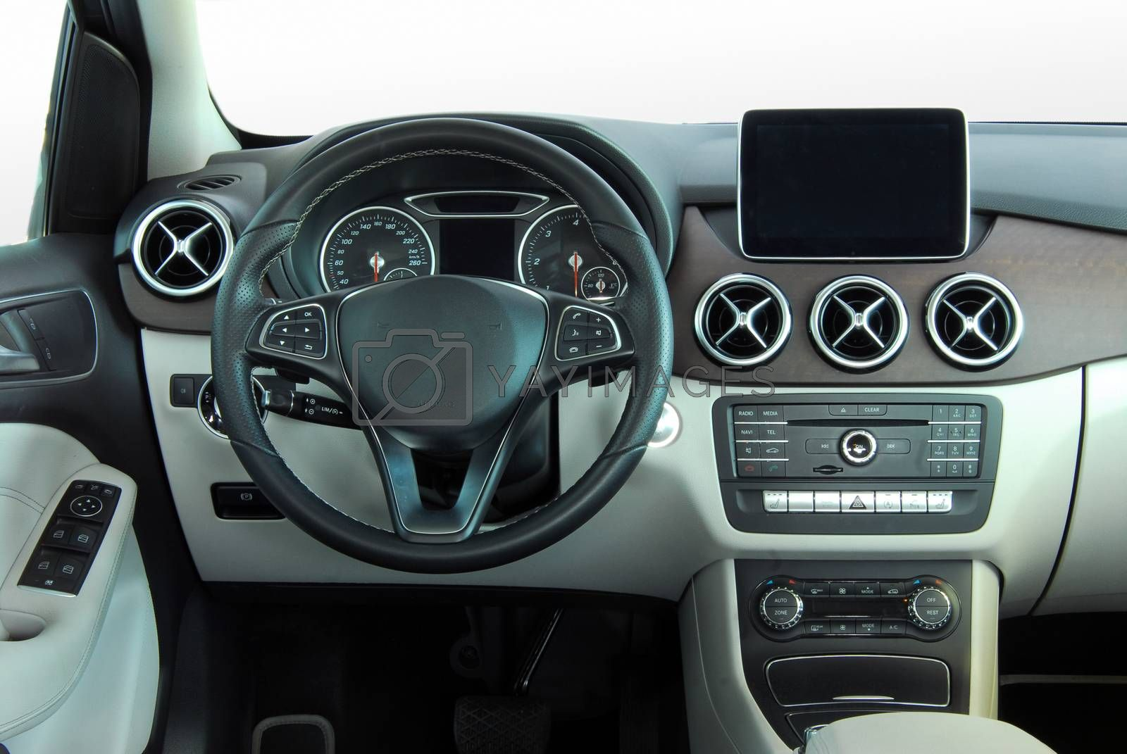 interior of a modern car by aselsa