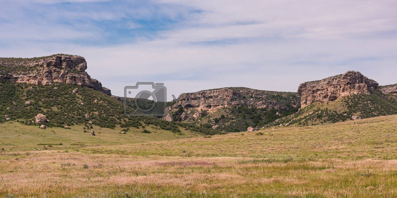The Bluffs of Chugwater, Wyoming by Gary Gray