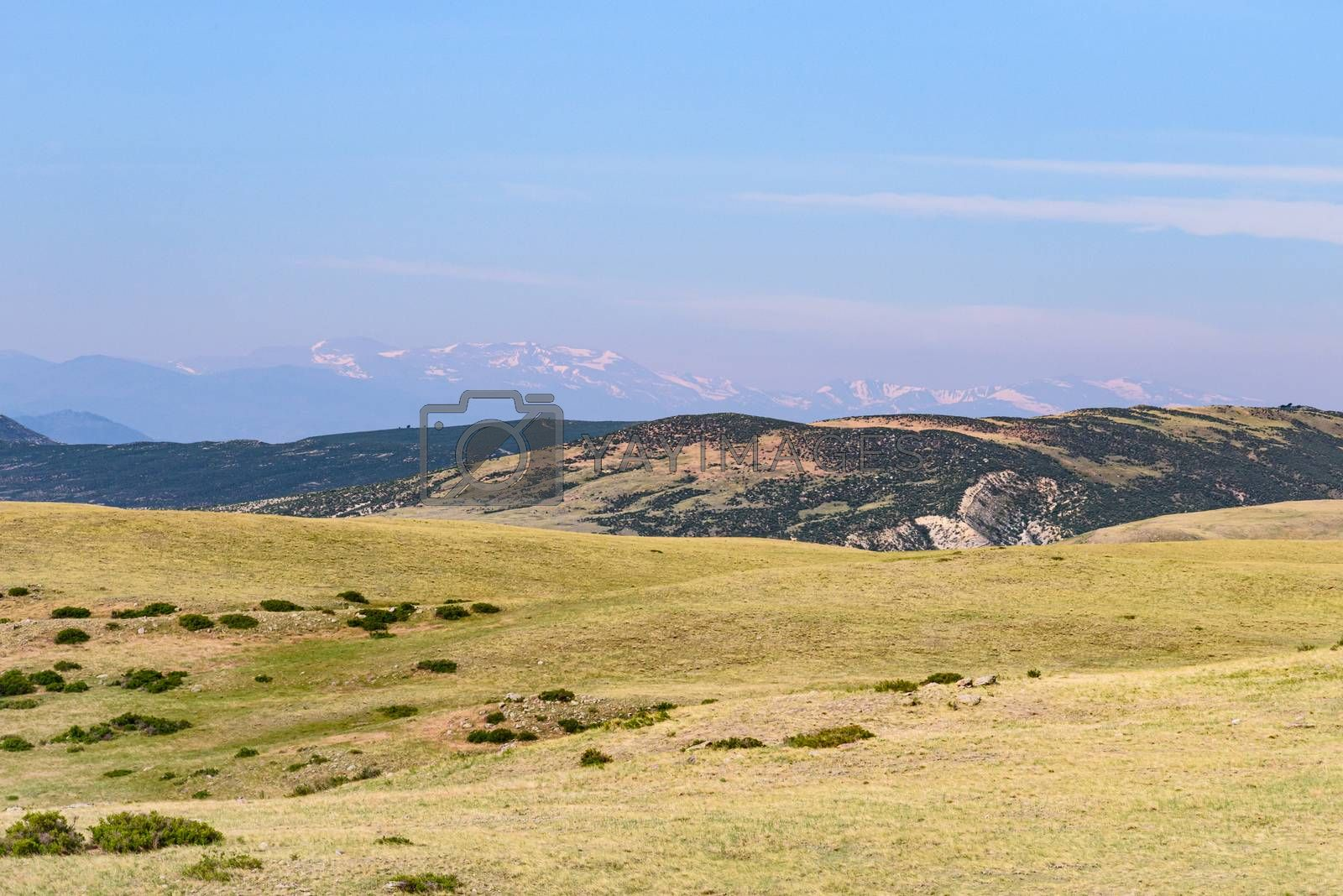 Open country at Soapstone Prairie in Northern Colorado. by Gary Gray