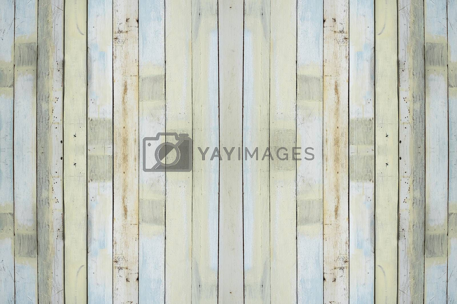 Color Pastel wood wall and texture
