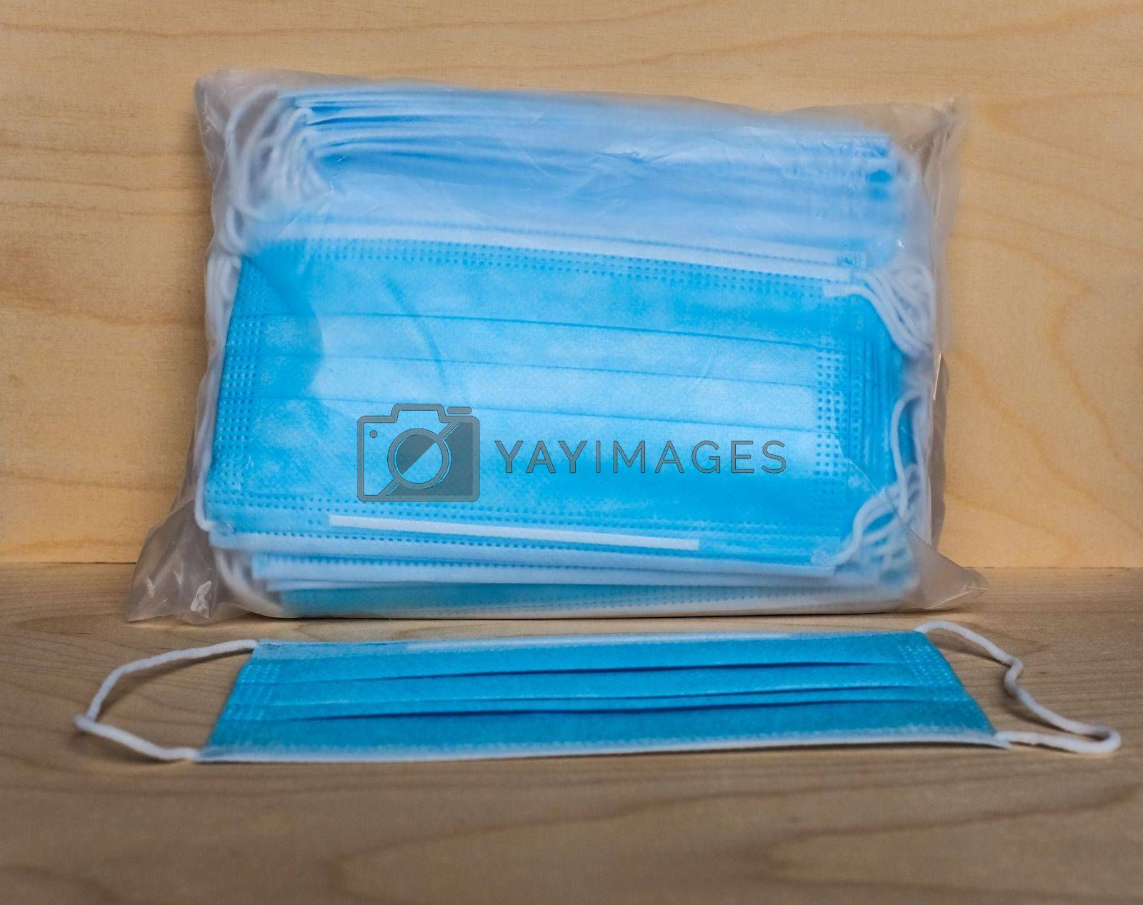 face masks used to protect from respiratory illnesses including COVID-19