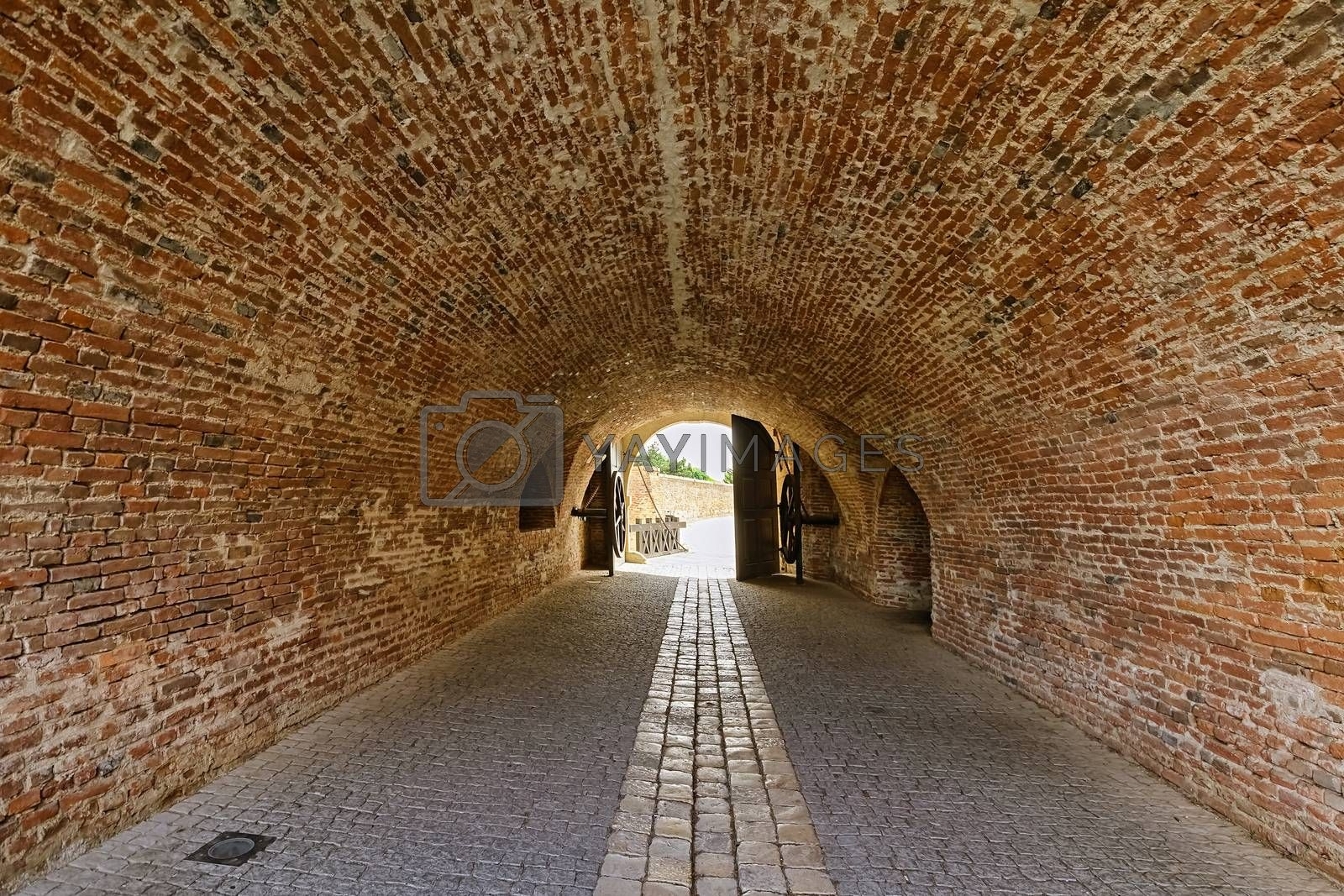Passageway in the Alba Carolina Citadel, Alba Iulia