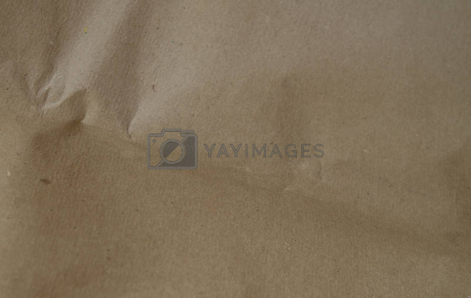 Abstract texture of grey packaging paper, banner