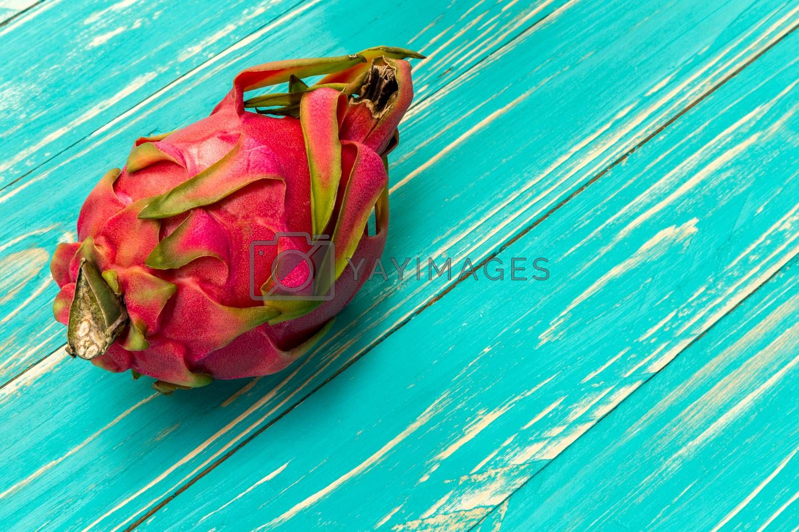 Dragon fruit is exotic tropical fruit from southeast Asia.