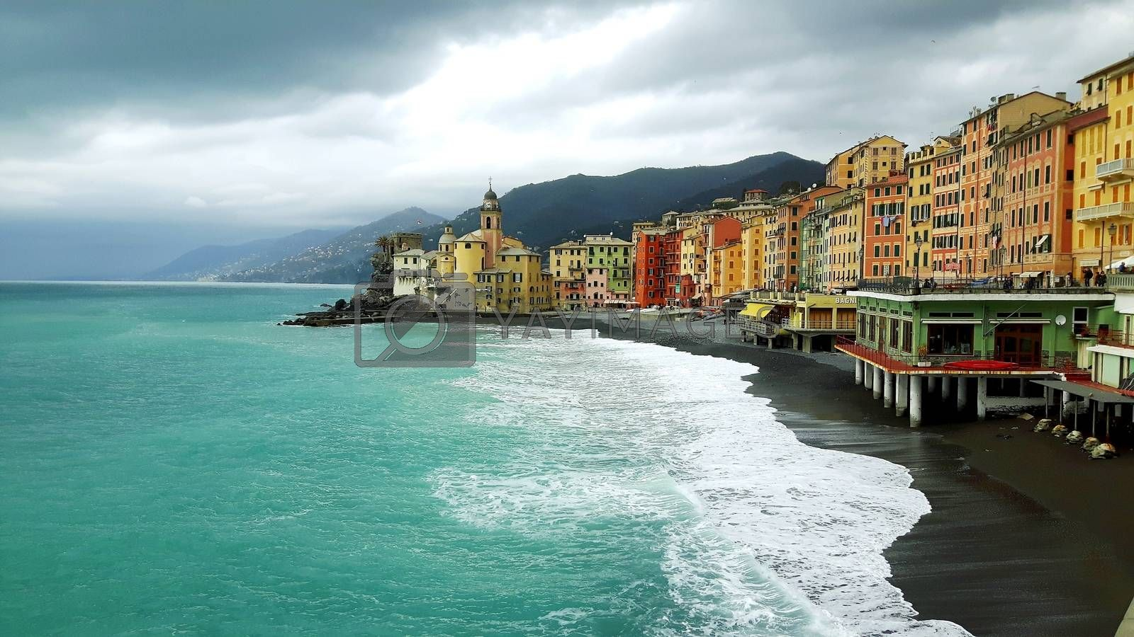 Ligurian riviera from Camogli to Portofino by yohananegusse
