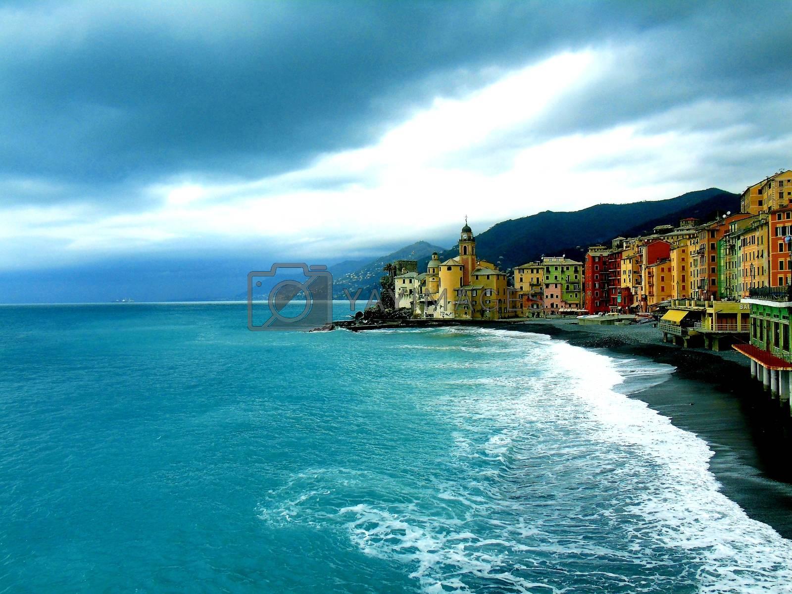 Ligurian riviera from Camogli to Portofino by yohananegusse