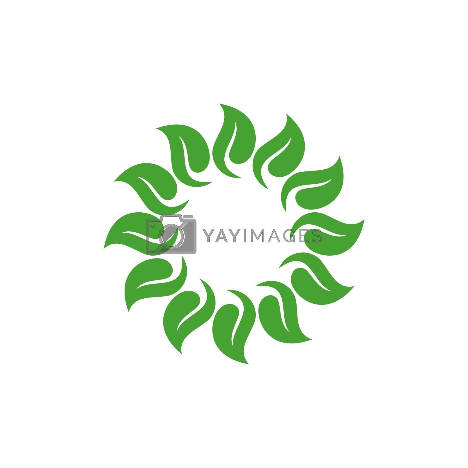Natural Spa Flower Ornament Logo Template Illustration Design. Vector EPS 10.