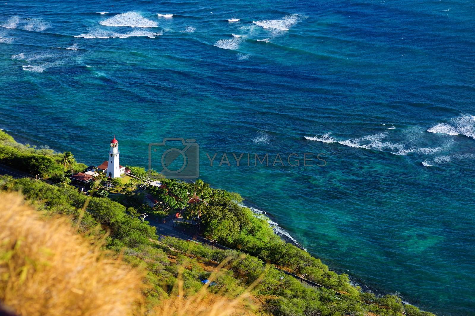 Diamond Head lighthouse, Honolulu, Hawaii