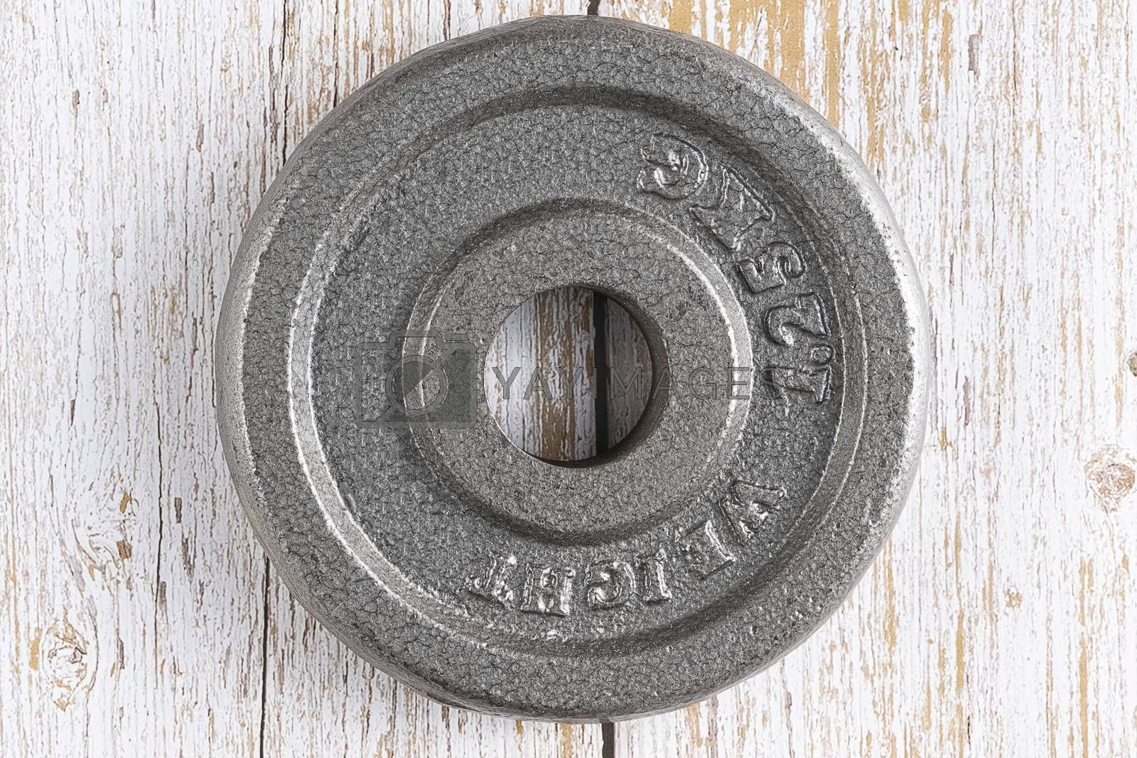 A weight plate by Nawoot