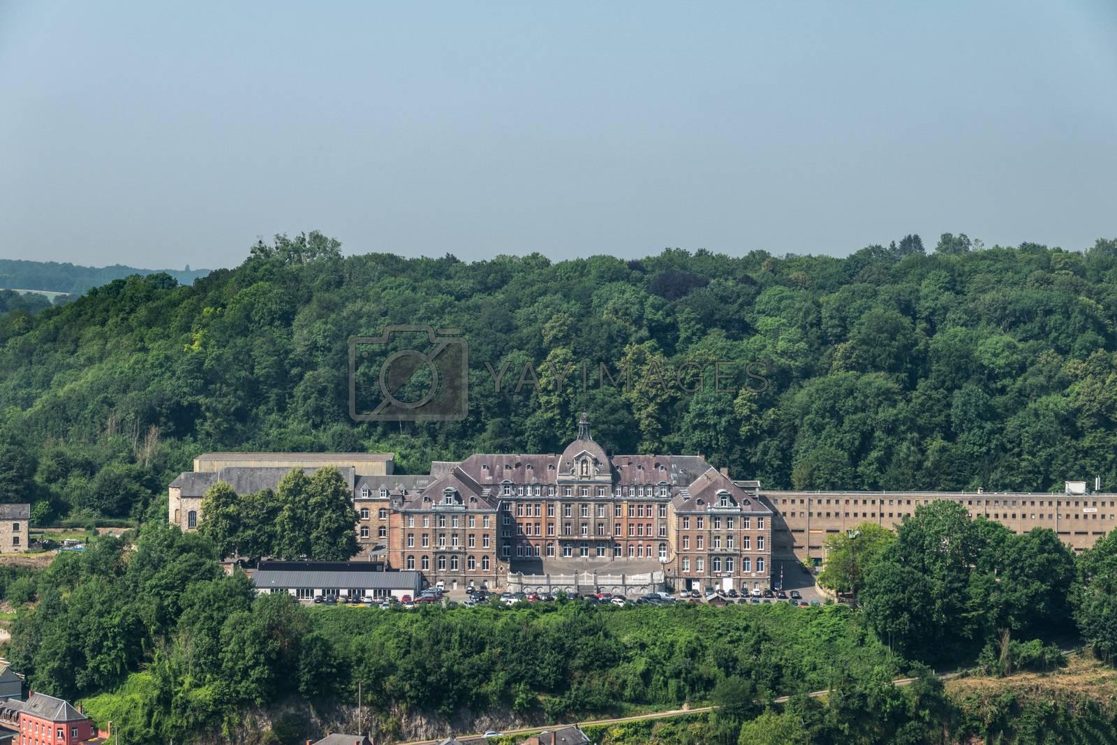College Notre Dame de Bellevue in Dinant, Belgium. by Claudine