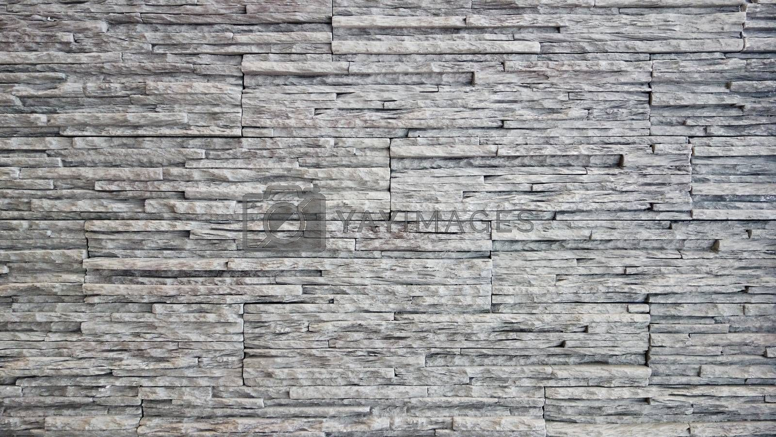 Stone wall texture, pattern of decorative stone wall background