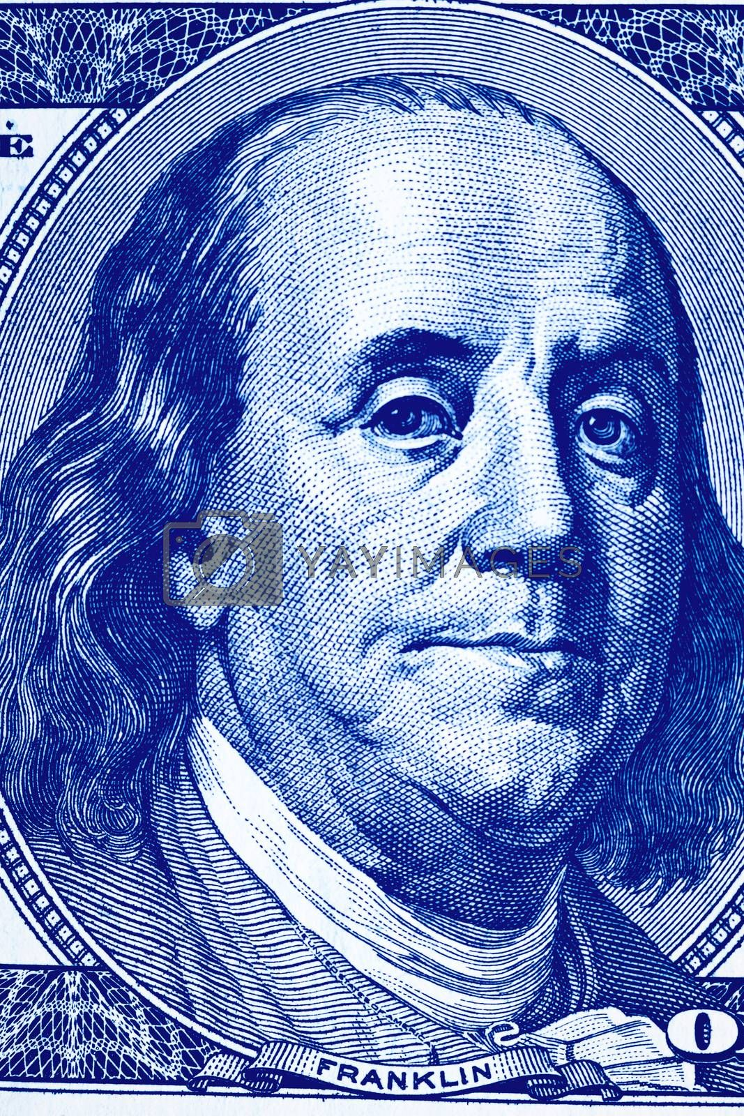 Background with money american dollar bills. by Eugene Yemelyanov