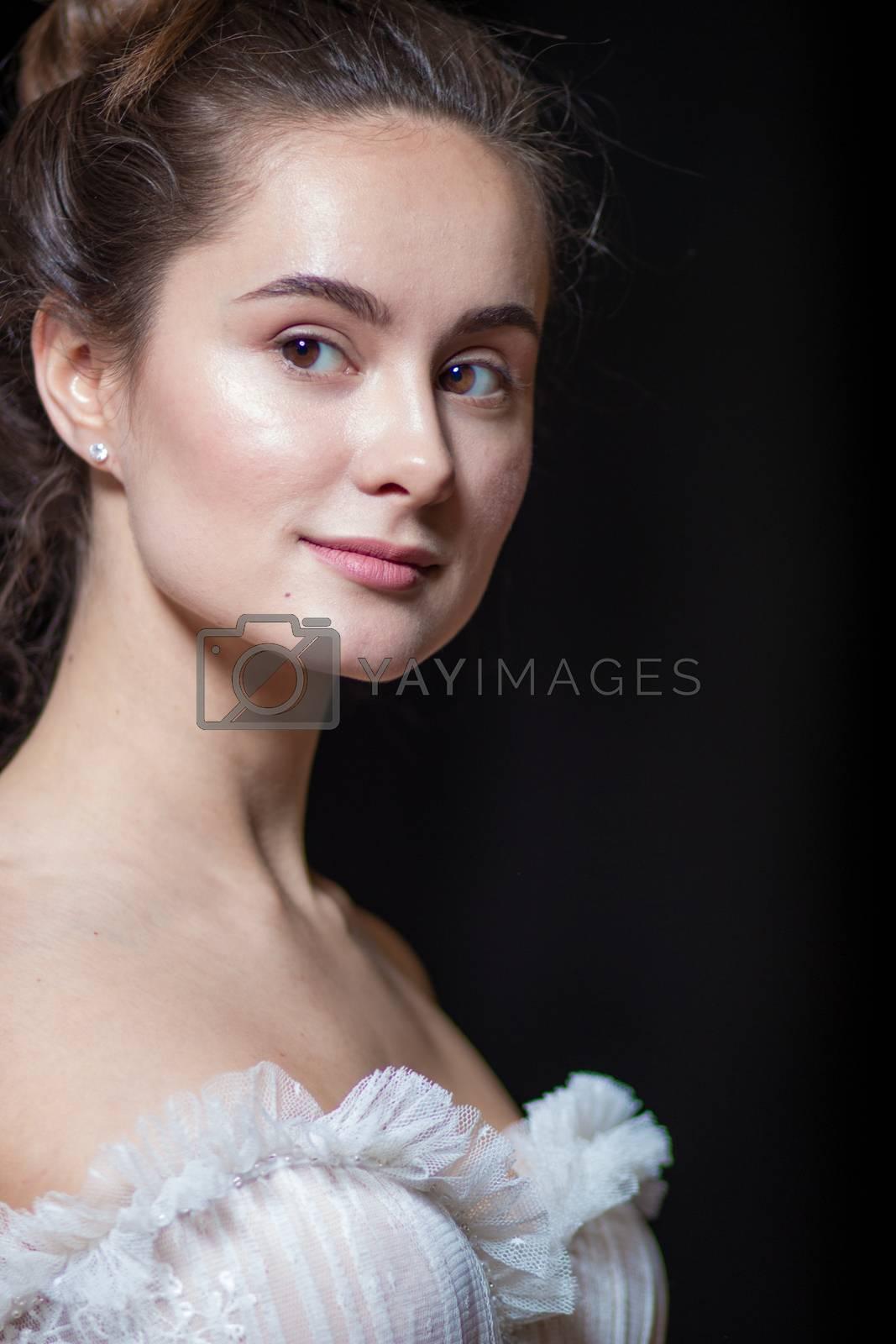bride portrait woman wedding style wedding dress angel art fashion