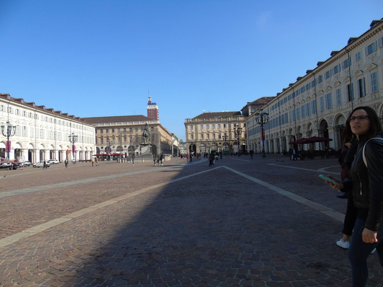 Visiting Turin in summer by yohananegusse