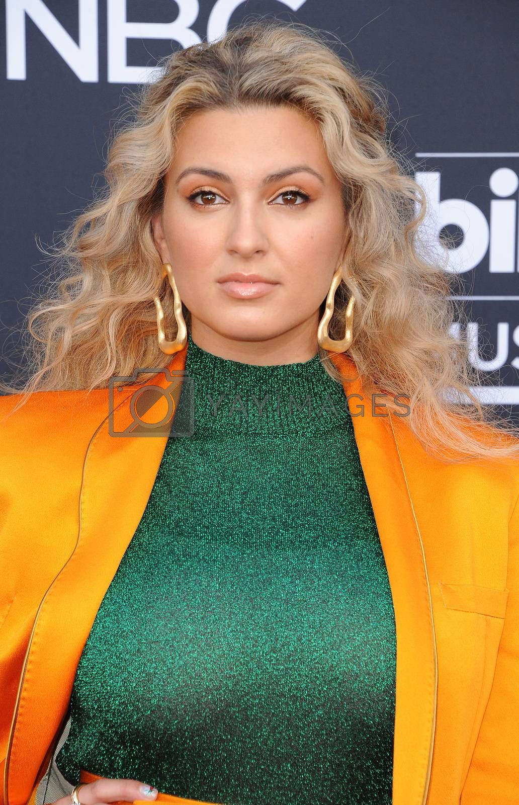 Tori Kelly at the 2019 Billboard Music Awards held at the MGM Grand Garden Arena in Las Vegas, USA on May 1, 2019.