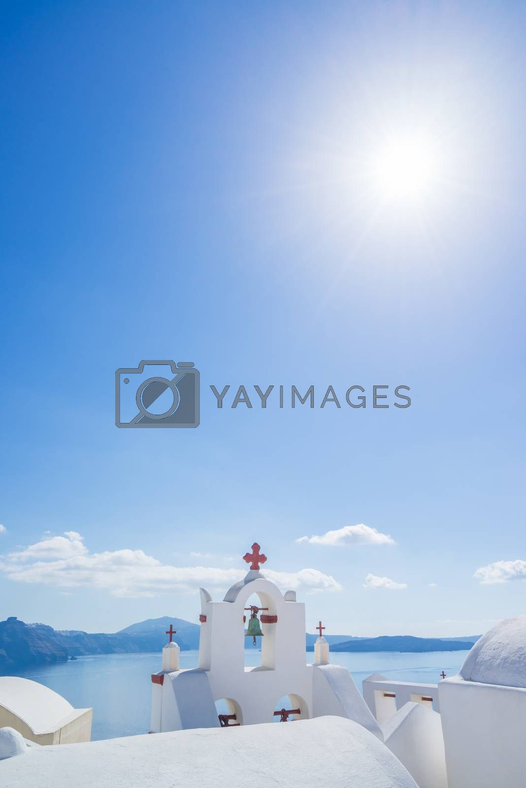 Church of Oia in Santorini island Greece