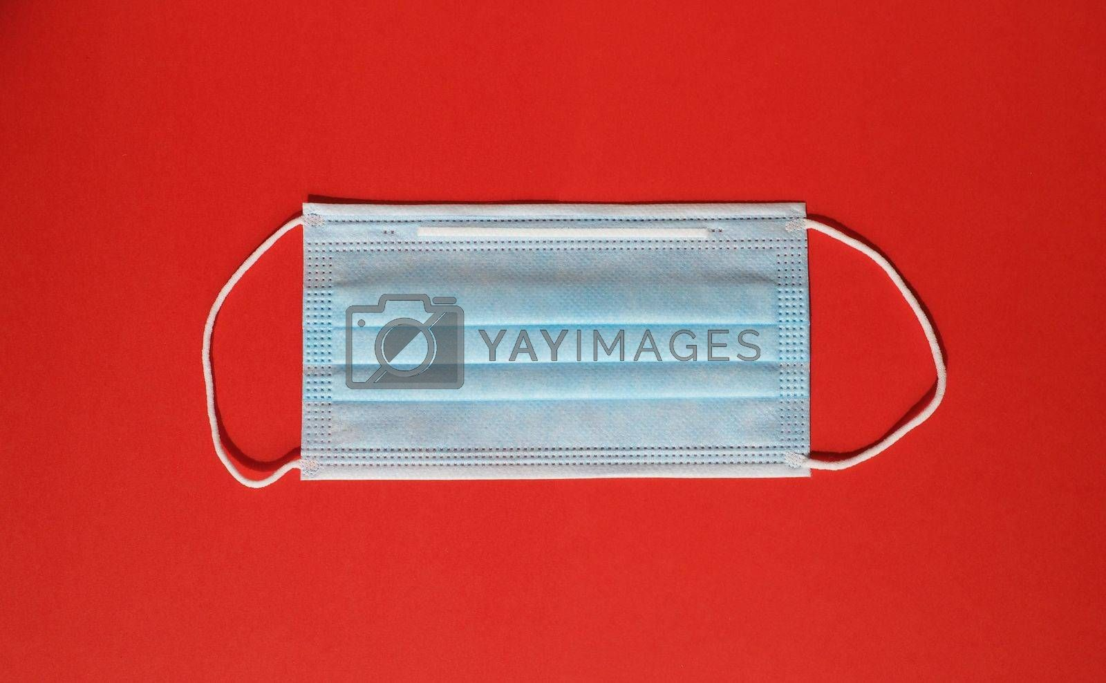 face mask used to protect from respiratory illnesses including COVID-19
