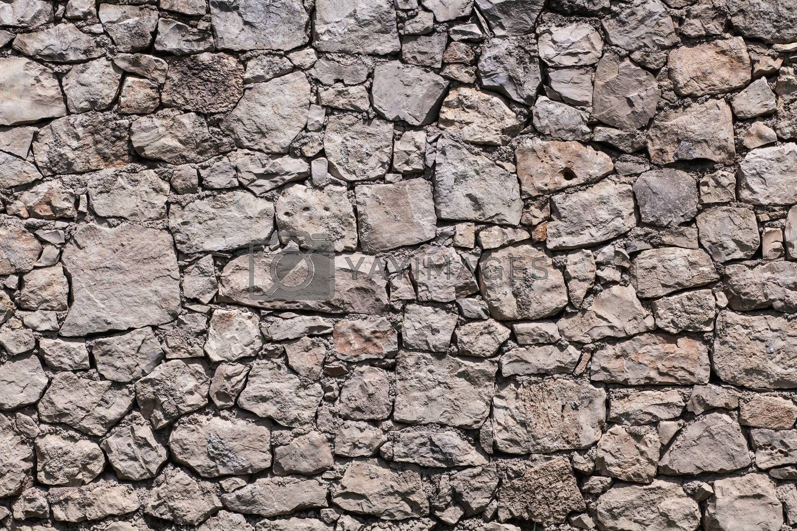 Royalty free image of Real stone wall texture by IxMaster