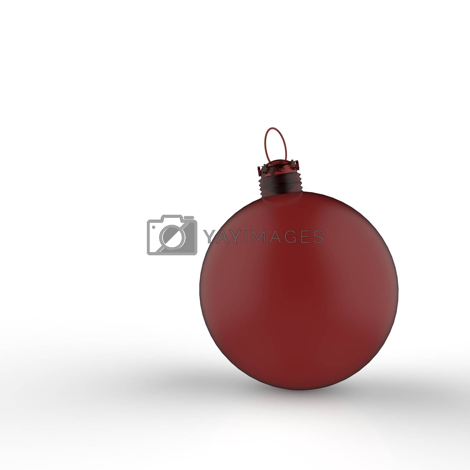 Royalty free image of Empty Christmas ornament  by everythingpossible