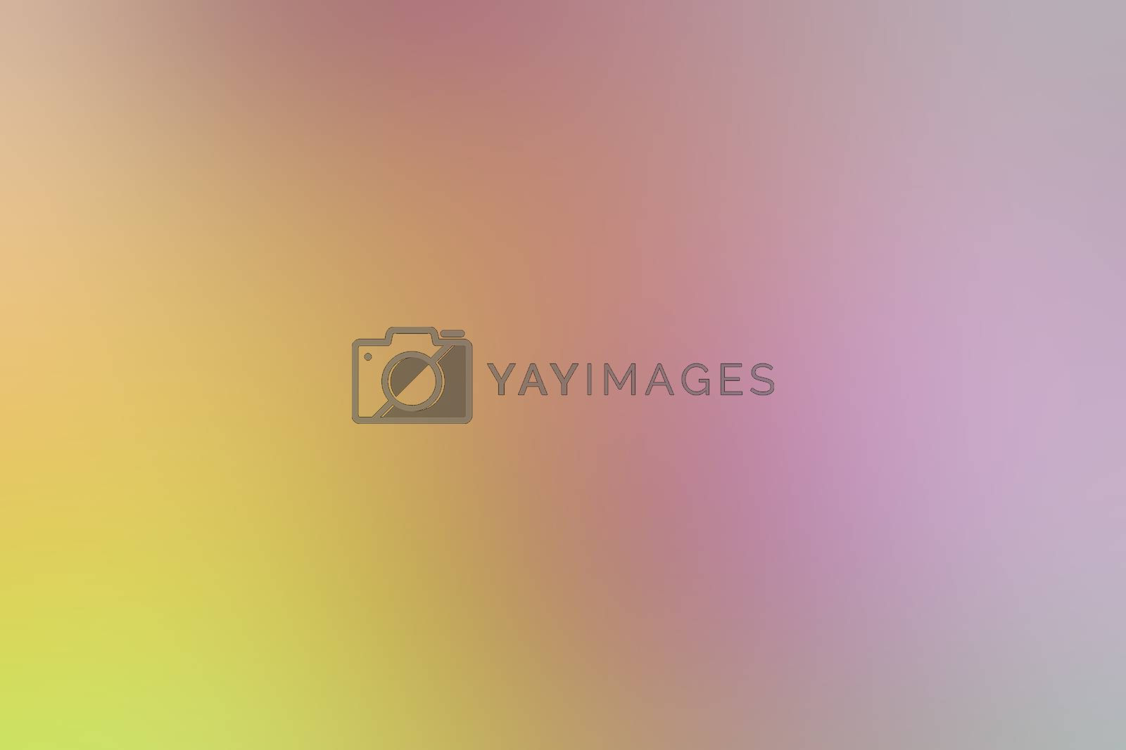 Royalty free image of blurred gradient yellow pink hue colorful pastel soft background illustration for cosmetics banner advertising background by cgdeaw